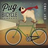 Pug on a Bike