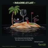 Paradise At Last Reproduction d'art par Michael Godard