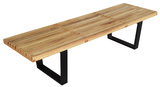 "Sudbury Natural Wood Bench - 60"" *"