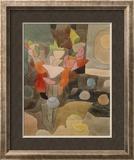 Still Life with Gladioli; Gladiolen Still Leben