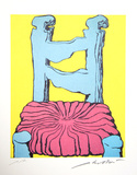 Untitled - Blue Chair
