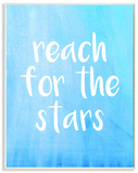 Reach For The Stars Blue and White