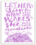 Let Her Sleep Purple Mountains