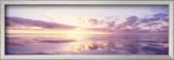 Sunrise on Beach  North Sea  Germany