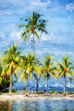 Garden of Eden III - In the Style of Oil Painting