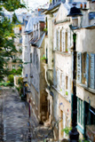 Montmartre Street II - In the Style of Oil Painting Giclée par Philippe Hugonnard