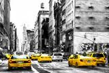 NYC Taxi Cabs Giclée par Philippe Hugonnard
