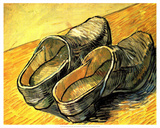 A Pair of Wooden Shoes  1888