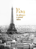 Forever Paris Reproduction d'art par Irene Suchocki