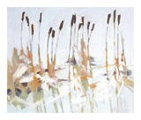 Cattails and Ice