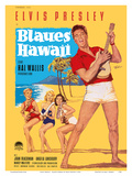 Elvis Presley in Blaues (Blue) Hawaii