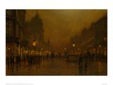A Street at Night