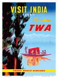 Visit India - Kashmir - Fly TWA