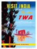 Visit India - Kashmir - Fly TWA