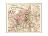 Map of Jerusalem (C 1900)  Maps