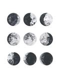 Moon Phases Watercolor I Reproduction d'art par Samantha Ranlet