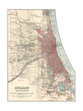 Map of Chicago (C 1900)  Maps