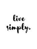 Live Simply