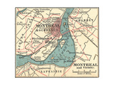 Map of Montreal (C 1900)  Maps