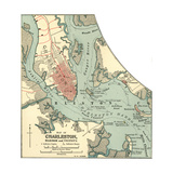 Map of Charleston (C 1900)  Maps