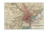 Map of Philadelphia (C 1900)  Maps