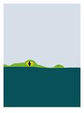 Crocodile Reproduction d'art par Jorey Hurley