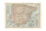 Plate 20 Map of Spain