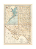 Plate 89 Map of Texas
