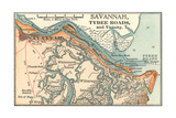 Map of Savannah (C 1900)  Maps