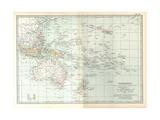 Plate 49 Map of Oceanica (Oceania) Australia
