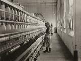 Sadie Pfeifer  a Cotton Mill Spinner  Lancaster  South Carolina  1908