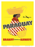 Paraguay - South America - Braniff International Airways
