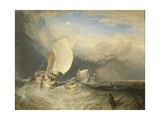 Fishing Boats with Hucksters Bargaining for Fish  1837-38
