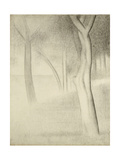 Trees (Study for La Grande Jatte)  1884