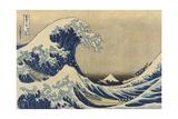 The Great Wave Off Kanagawa (Kanagawa Oki Nami Ura)  C1830-33