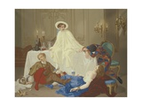 The Supper after the Masked Ball  C1855