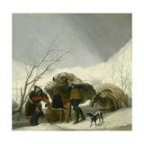 Winter Scene  C1786