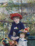 Two Sisters (On the Terrace)  1881