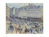The Place Du Havre  Paris  1893