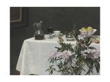 Still Life: Corner of a Table  1873