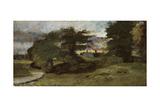 Landscape with Cottages  1809-10