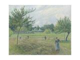 Haymaking at Éragny  1892