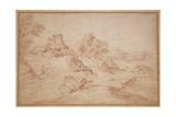 Landscape with a Castle  1716-18