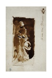 Sketch after the Portrait of Rosa Corder  C1879