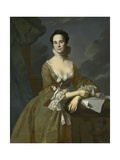 Mrs Daniel Hubbard (Mary Greene)  C1764