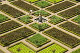 Formal Gardens  Chateau of Villandry  Indre Et Loire  Loire Valley  France