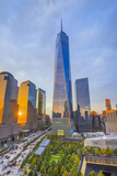 Usa  New York  Manhattan  Downtown  World Trade Center  Freedom Tower or One World Trade Center