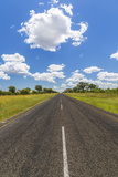 Road  Botswana  Africa