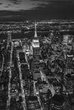 Empire State Building and Manhattan  New York City  New York  USA