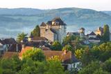 Village of Curemonte  Correze  Limousin  France